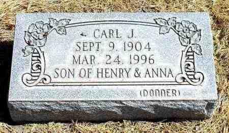 DONNER, CARL J. - Box Butte County, Nebraska   CARL J. DONNER - Nebraska Gravestone Photos