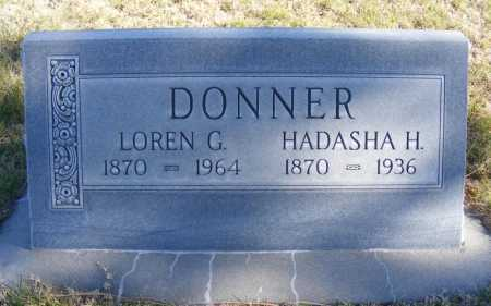 DONNER, HADASHA H. - Box Butte County, Nebraska | HADASHA H. DONNER - Nebraska Gravestone Photos