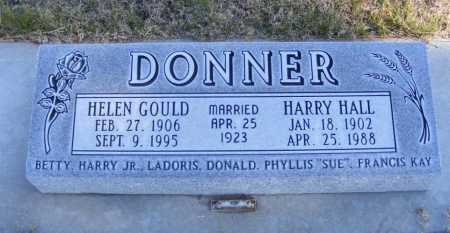 DONNER, HARRY HALL - Box Butte County, Nebraska | HARRY HALL DONNER - Nebraska Gravestone Photos