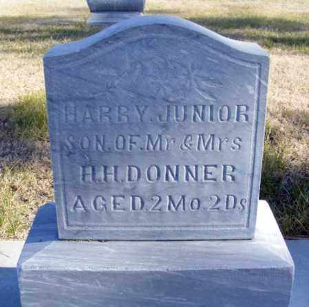 DONNER, HARRY JR. - Box Butte County, Nebraska | HARRY JR. DONNER - Nebraska Gravestone Photos