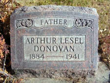 DONOVAN, ARTHUR LESEL - Box Butte County, Nebraska | ARTHUR LESEL DONOVAN - Nebraska Gravestone Photos