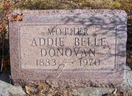 DONOVAN, ADDIE BELLE - Box Butte County, Nebraska   ADDIE BELLE DONOVAN - Nebraska Gravestone Photos