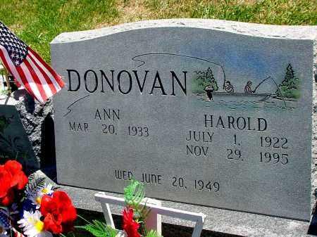 DONOVAN, HAROLD - Box Butte County, Nebraska | HAROLD DONOVAN - Nebraska Gravestone Photos