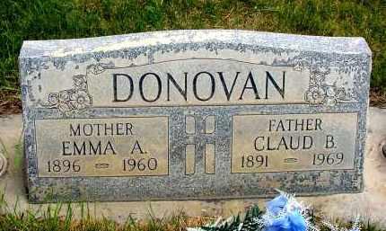 DONOVAN, EMMA A. - Box Butte County, Nebraska | EMMA A. DONOVAN - Nebraska Gravestone Photos