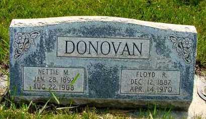 DONOVAN, FLOYD R. - Box Butte County, Nebraska | FLOYD R. DONOVAN - Nebraska Gravestone Photos