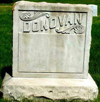 DONOVAN, FAMILY - Box Butte County, Nebraska   FAMILY DONOVAN - Nebraska Gravestone Photos