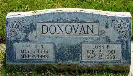 DONOVAN, JOHN H. - Box Butte County, Nebraska | JOHN H. DONOVAN - Nebraska Gravestone Photos