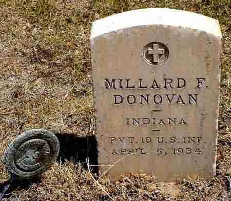 DONOVAN, MILLARD F. - Box Butte County, Nebraska   MILLARD F. DONOVAN - Nebraska Gravestone Photos