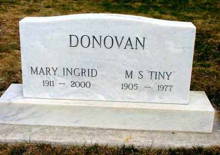"DONOVAN, M.S. ""TINY"" - Box Butte County, Nebraska 