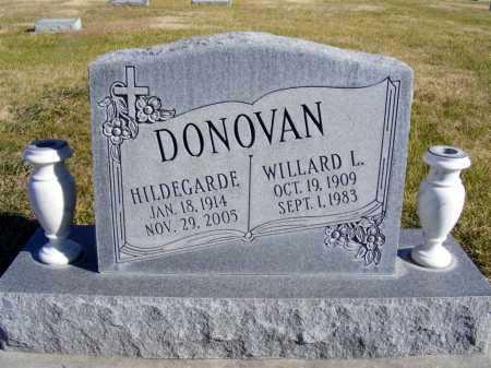 DONOVAN, HILDEGARDE - Box Butte County, Nebraska | HILDEGARDE DONOVAN - Nebraska Gravestone Photos