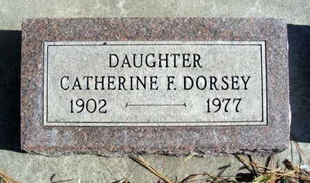 DORSEY, CATHERINE F. - Box Butte County, Nebraska | CATHERINE F. DORSEY - Nebraska Gravestone Photos