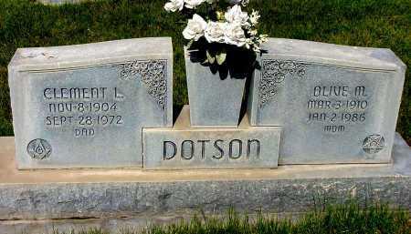 DOTSON, OLIVE M. - Box Butte County, Nebraska | OLIVE M. DOTSON - Nebraska Gravestone Photos