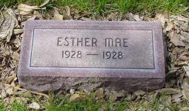 DOUGLAS, ESTHER MAE - Box Butte County, Nebraska | ESTHER MAE DOUGLAS - Nebraska Gravestone Photos