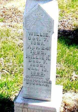 DOUGLAS, WILLIE - Box Butte County, Nebraska | WILLIE DOUGLAS - Nebraska Gravestone Photos
