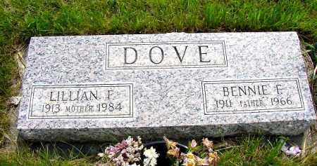DOVE, LILLIAN F. - Box Butte County, Nebraska | LILLIAN F. DOVE - Nebraska Gravestone Photos