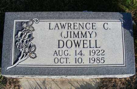 DOWELL, LAWRENCE C. (JIMMY) - Box Butte County, Nebraska | LAWRENCE C. (JIMMY) DOWELL - Nebraska Gravestone Photos