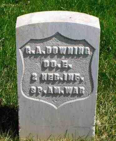 DOWNING, G.A. - Box Butte County, Nebraska   G.A. DOWNING - Nebraska Gravestone Photos