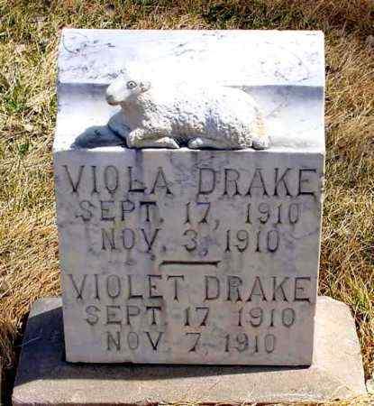DRAKE, VIOLET - Box Butte County, Nebraska | VIOLET DRAKE - Nebraska Gravestone Photos
