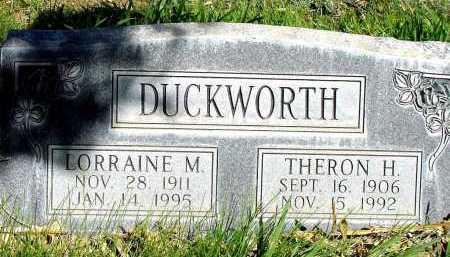 DUCKWORTH, THERON H. - Box Butte County, Nebraska   THERON H. DUCKWORTH - Nebraska Gravestone Photos