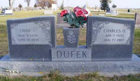 DUFEK, LIBBIE F. - Box Butte County, Nebraska | LIBBIE F. DUFEK - Nebraska Gravestone Photos