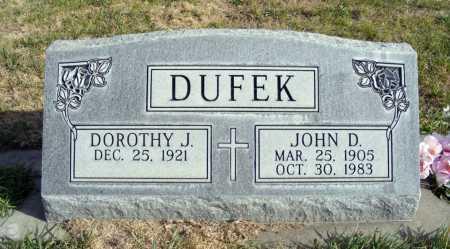 DUFEK, DOROTHY J. - Box Butte County, Nebraska   DOROTHY J. DUFEK - Nebraska Gravestone Photos