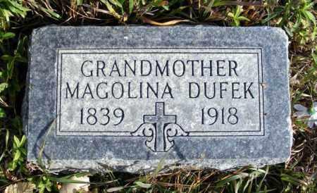 DUFEK, MAGOLINA - Box Butte County, Nebraska   MAGOLINA DUFEK - Nebraska Gravestone Photos