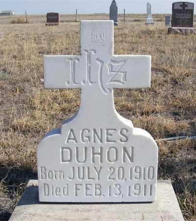 DUHON, AGNES - Box Butte County, Nebraska | AGNES DUHON - Nebraska Gravestone Photos