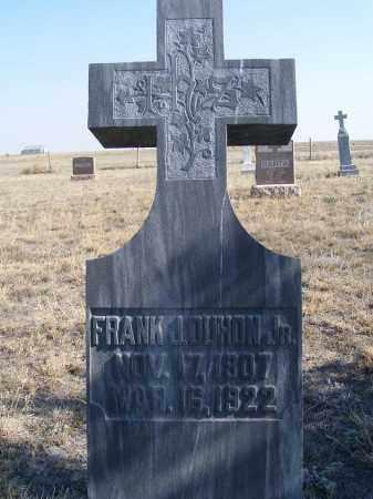 DUHON, FRANK J. JR. - Box Butte County, Nebraska | FRANK J. JR. DUHON - Nebraska Gravestone Photos