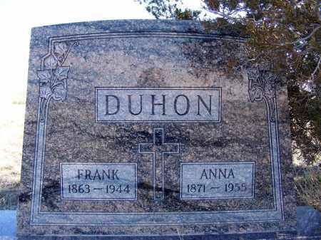 DUHON, ANNA - Box Butte County, Nebraska   ANNA DUHON - Nebraska Gravestone Photos