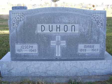 DUHON, JOSEPH - Box Butte County, Nebraska | JOSEPH DUHON - Nebraska Gravestone Photos