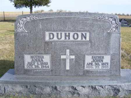 DUHON, ANNA - Box Butte County, Nebraska | ANNA DUHON - Nebraska Gravestone Photos
