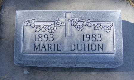 SOKOL DUHON, MARIE - Box Butte County, Nebraska | MARIE SOKOL DUHON - Nebraska Gravestone Photos
