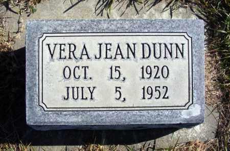 DUNN, VERA JEAN - Box Butte County, Nebraska | VERA JEAN DUNN - Nebraska Gravestone Photos