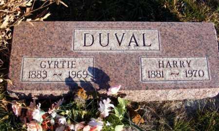 DUVAL, HARRY - Box Butte County, Nebraska   HARRY DUVAL - Nebraska Gravestone Photos