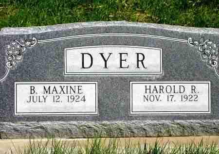 GROSSMAN DYER, B. MAXINE - Box Butte County, Nebraska   B. MAXINE GROSSMAN DYER - Nebraska Gravestone Photos