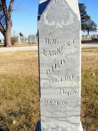 EARNEST, H.N. - Box Butte County, Nebraska   H.N. EARNEST - Nebraska Gravestone Photos