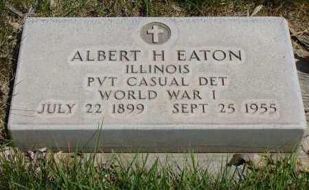 EATON, ALBERT H. - Box Butte County, Nebraska | ALBERT H. EATON - Nebraska Gravestone Photos