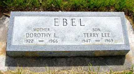 EBEL, TERRY LEE - Box Butte County, Nebraska | TERRY LEE EBEL - Nebraska Gravestone Photos