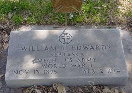 EDWARDS, WILLIAM E. - Box Butte County, Nebraska | WILLIAM E. EDWARDS - Nebraska Gravestone Photos