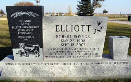 ELLIOTT, ROBERT ROSCOE - Box Butte County, Nebraska | ROBERT ROSCOE ELLIOTT - Nebraska Gravestone Photos