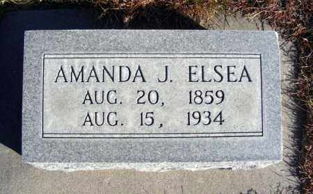 ELSEA, AMANDA J. - Box Butte County, Nebraska | AMANDA J. ELSEA - Nebraska Gravestone Photos
