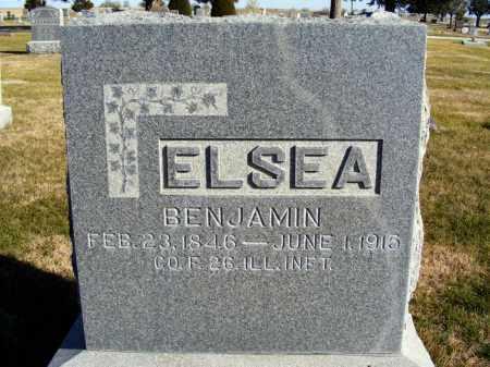 ELSEA, BENJAMIN - Box Butte County, Nebraska | BENJAMIN ELSEA - Nebraska Gravestone Photos