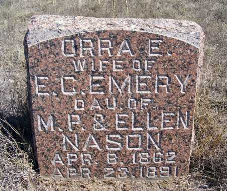 EMERY, ORRA E. - Box Butte County, Nebraska | ORRA E. EMERY - Nebraska Gravestone Photos