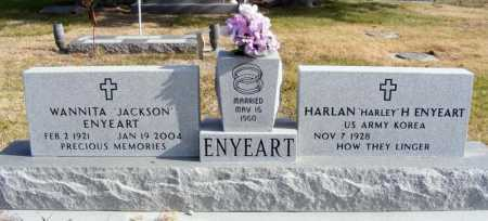 """ENYEART, HARLAN H """"HARLEY"""" - Box Butte County, Nebraska 