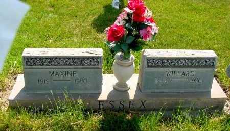 ESSEX, WILLARD - Box Butte County, Nebraska   WILLARD ESSEX - Nebraska Gravestone Photos