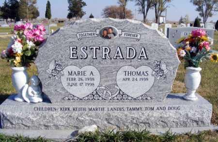 ESTRADA, MARIE A. - Box Butte County, Nebraska | MARIE A. ESTRADA - Nebraska Gravestone Photos