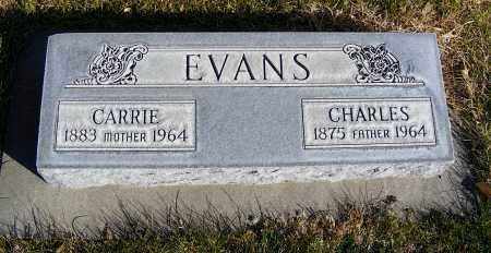 EVANS, CHARLES - Box Butte County, Nebraska | CHARLES EVANS - Nebraska Gravestone Photos