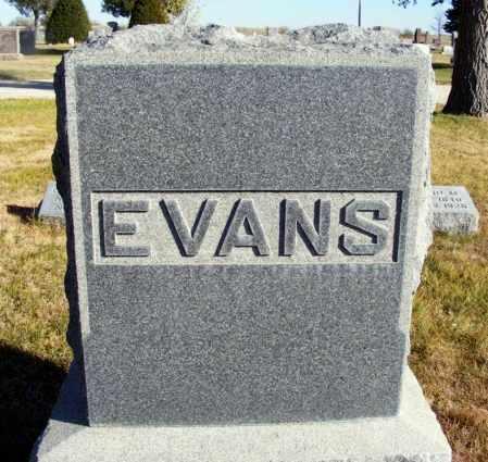 EVANS, FAMILY - Box Butte County, Nebraska | FAMILY EVANS - Nebraska Gravestone Photos