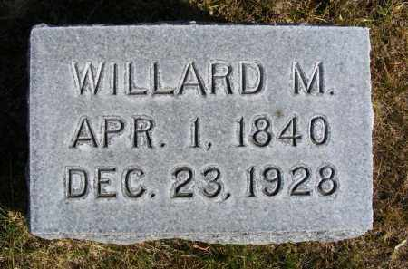 EVANS, WILLARD M. - Box Butte County, Nebraska | WILLARD M. EVANS - Nebraska Gravestone Photos