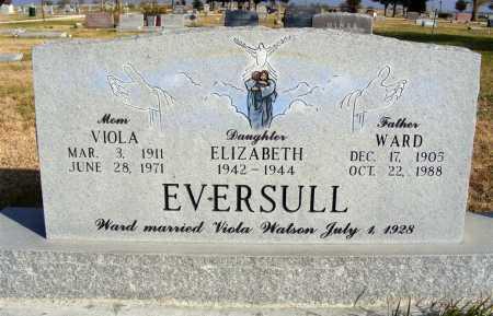 EVERSULL, ELIZABETH - Box Butte County, Nebraska   ELIZABETH EVERSULL - Nebraska Gravestone Photos